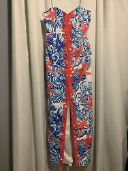 Lilly Pulitzer EUC She She Shells Angela Maxi Dress Size 6 Holy Grail!
