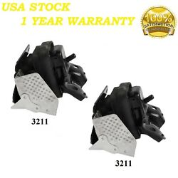 2 PCS FRONT MOTOR MOUNT FIT 2007-2013 Chevy Silverado 1500 NEW STYLE 5.3L  $55.23
