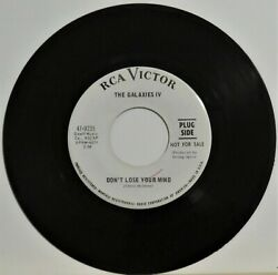 Super Psych 45 - Galaxies IV - Don't Lose Your Mind - RCA 9235 - 1967 - Promo VG