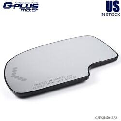 Mirror Glass Left Hand Heated For Chevy Yukon Suburban Avalanche Driver Side LH