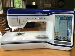 BROTHER DREAM MACHINE 2 XV8500D8550 SEWING Embroidery MACHINE QUILT EXTRAS!