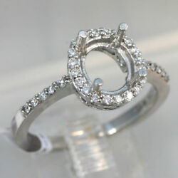 Diamond Halo Mounting for Oval Stone size 6.5 $750.00
