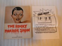 The Rocky Horror Show Song Book by O'Brien 1974 London with Dance Instructions
