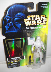 #7694 NRFC Kenner Star Wars Power of the Force Snowtrooper Figure