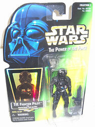 #7691 NRFC Kenner Star Wars Power of the Force Tie Fighter Pilot Figure