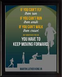 Martin Luther King Jr Quote If You Can#x27;t Poster Print Picture or Framed Wall Art $14.99
