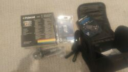 Polaroid ie 827 18MP Optical 8XZoom preview screen with 8GB SD Cardstand w cas $100.00
