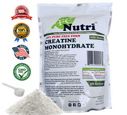 Creatine Monohydrate 100% Pure Powder 1000g 2.2 lb Micronized by FDC NUTRITION $17.85