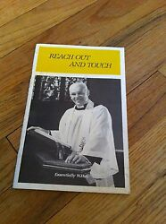 Reach Out And Touch W. Hamilton Aulenbach Messages Poems Hymns Book Illustrated