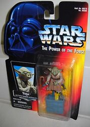 #5133 NRFC Kenner Star Wars Power of the Force Yoda Action Figure