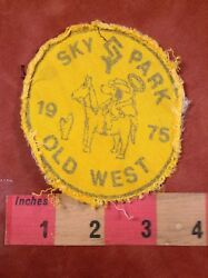 Vtg amp; As Is 1975 SKY PARK Ohio Pilot Airport OLD WEST TRIP Snoopy Patch 88NJ $9.99