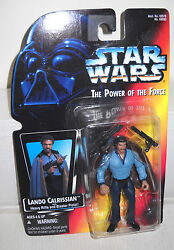 #7693 NRFC Kenner Star Wars Power of the Force Lando Calrissian Figure