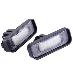 2x LED License Plate Lamp Error Free for Mercedes Benz W220 S320 S420 S430 99-05