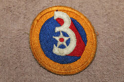 Original WW2 U.S. Army Air Forces 3rd Air Force Uniform Patch from Veteran $8.95