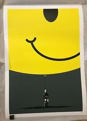 Hold on to What You Got  Eelus - Smiley Edition Signed and numbered