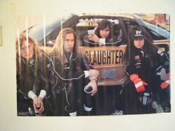 Slaughter Poster Commercial With Race Car OLD