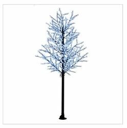 14FT All White Cherry Blossom LED Indoor Outdoor Lighted Tree Commercial Quality $1,999.99