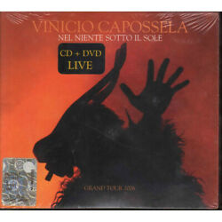 Vinicio Capossela  CD DVD in Nothing under the Sole Grand Tour 2006 Sealed