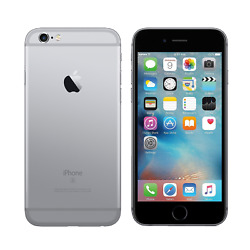 Apple iPhone 6 - 16GB - Space Gray - Fully Unlocked - Good Condition