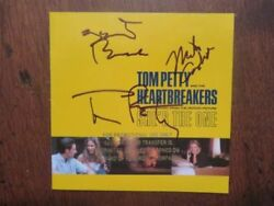 Tom Petty Campbell Tench She's The One Signed Autograph CD Promo Cover Booklet