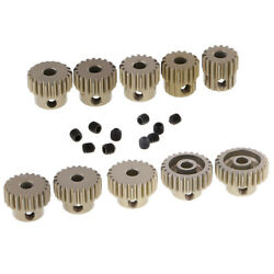 RC Motor Pinion Gear 16T 25T 48DP Pitch 3.175mm Shaft for 1 10 RC Truck Cars $19.07