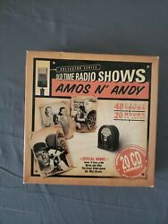 Old Time Radio Shows: Amos n' Andy (20 CD's 2004) 40 Radio Shows like NEW!