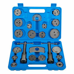 22 pcs Disc Brake Caliper Rewind Piston Pad Wind Back Car Auto Tool Set Kit $19.85