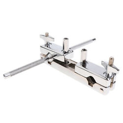 Metal Connecting Clamp Holder Bracket Rod for Cowbell Percussion Accessory $22.52