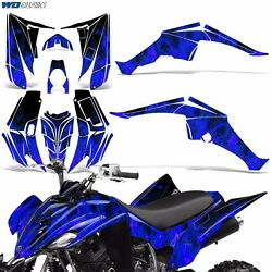 Yamaha Raptor 350 Decal Graphic Kit Quad ATV Wrap Deco Racing Parts 04-14 ICE U