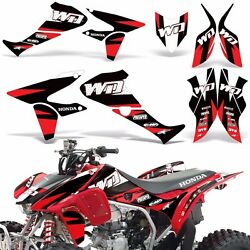 Decal Graphic Kit Honda TRX450R ATV Quad Decal Sticker Wrap Deco 450 09-17 WD