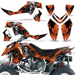 Decal Graphic Kit Polaris Outlaw 500525 ATV Quad Wrap Deco 2006-2008 REAP ORNGE