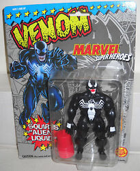 #7224 NRFC Toy Biz Marvel Superheroes Venom Squirts Alien Liquid Figure