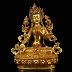 THE TOP MASTERS OF NEPAL HAND-CRAFTED BUDDHA STATUES WITH GOLD-PLATED GEMSTONES