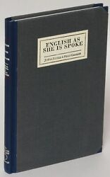 English As She Is Spoke The New Guide  Jose Fonseca Nice Copy 1st ed #181469
