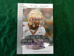 2004 #x27;04 SAGE HIT *AUTOGRAPH* CARD of P.K. SAM of the FL. STATE SEMINOLES #A44 $1.74