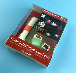 LuminAID PackLite Spectra Color Changing Solar Inflatable Lantern #0155