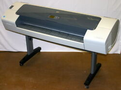 HP HEWLETT PACKARD 44 INCH DESIGNJET T610 WIDE FORMAT COLOR PLOTTER PRINTER $945.00