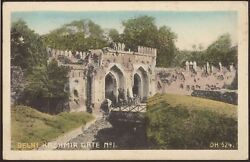 India - Delhi - Kashmir Gate No.1 - Vintage Printed Postcard