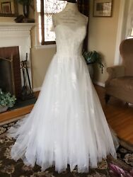 Watters Wtoo Hermia 11702 Wedding Dress Bridal Gown Size 12 Ivory NWT