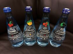 CLEARLY CANADIAN (Variety 4-pack) Exotic Pop Soda