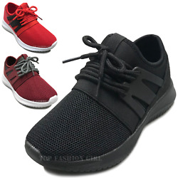 NEW Kids Mesh Sneakers Athletic Lace Up Boys Girls Tennis Shoe Size Youth 10 4 $19.95