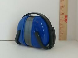 Earmuffs Ear Protection Leight Muff NRR 28 LM-77 28 Decibels BLUE Foldable