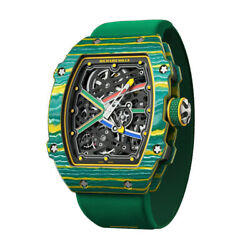 Richard Mille Sprint 48MM Wayde Van Niekerk Green Quartz TPT Watch RM67-02
