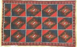 EXOTIC HAND-KNOTTED BALUCHISTAN AFGHAN TRIBAL RUG 100% WOOL UNIQUEFINE 4' X 3*