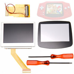 For Gameboy Advance GBA SP AGS-101 MOD LCD Backlight Screen 3240pin Kit