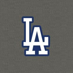 Los Angeles Dodgers LA logo Vinyl Decal FREE SHIPPING Size & Color Options  $4.88