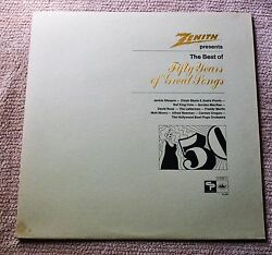 Zenith Best Of Fifty Years Of Great SongsVarious ArtistsCapitol Records 12