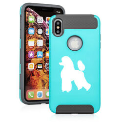 For Apple iPhone X XS MAX XR Shockproof Hard Soft Case Cover Poodle $14.99