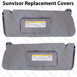Sun Visor Replacement Cover Leather For 95 99 Chevy Tahoe Suburban Yukon Gray $39.90