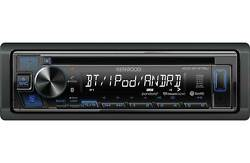 Kenwood 1-DIN Car Stereo CD Player Receiver Bluetooth Aux USB *KDCBT275